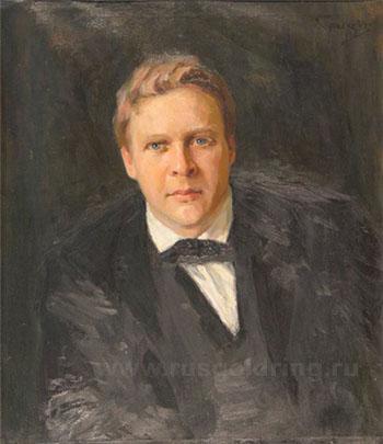Кузнецов Н. Портрет Федора Ивановича Шаляпина, 1902 год