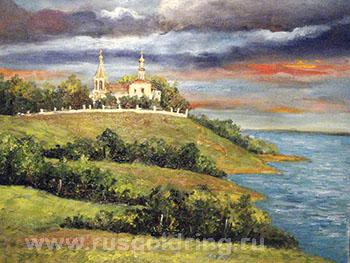 Церковь Рождества Богородицы - экскурсия в Городню