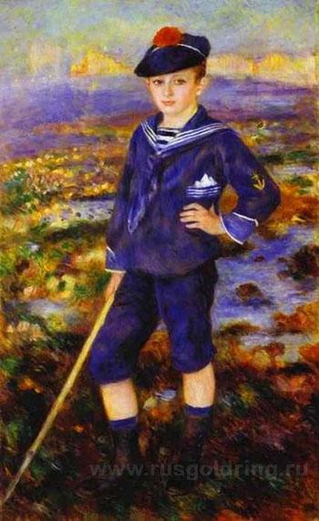 """""""Мальчик в матросской форме"""" Пьер Огюст Ренуар, 1883г."""