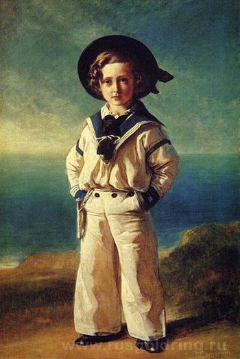 """""""Альберт Эдвард, Принц Уэльский"""" Франц Ксавер Винтерхальтер 1846г."""