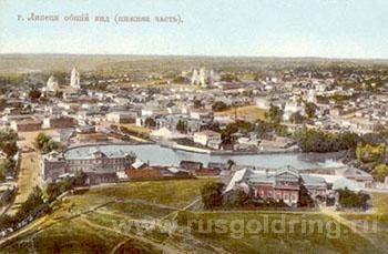 Старый Липецк, общий вид