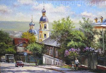 Пенза. Улица Чкалова.