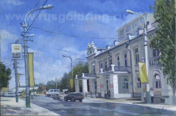 Пенза. Улица Кирова. Дом Солнышкиной.