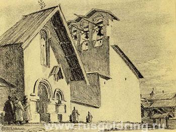 Врата церкви Козьмы и Демьяна с Примостья - туры и экскурсии в Псков, Золотое Кольцо России