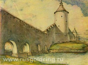 Нижние решетки - туры и экскурсии в Псков, Золотое Кольцо России