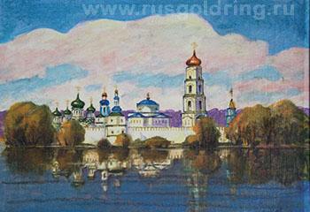 Раифский монастырь на картине