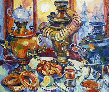 Чаепитие в уездном городе