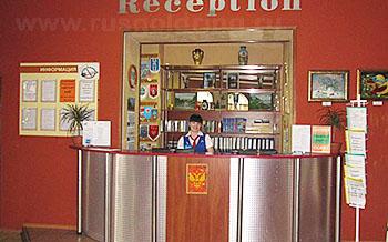 """Ресепшн отеля """"Балтхаус"""" в Пскове"""