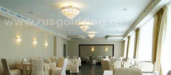 "Ресторан в отеле ""Бригантина"", Рыбиннск"