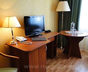 """2-местный номер стандарт в отеле """"Бригантина"""", Рыбиннск"""