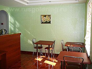 """Кафе в отеле """"Фаворит"""", Псков"""