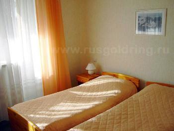 """2-местный номер с раздельными кроватями в гостинице """"Маски"""", Петрозаводск"""