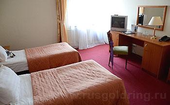 """Стандартный 2-местный номер с раздельными кроватями в гостинице """"Москва"""", Углич"""