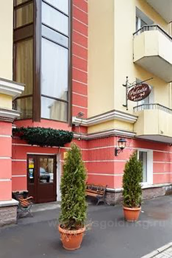 """Внешний вид отеля """"Палантин"""" в Санкт-Петербурге"""
