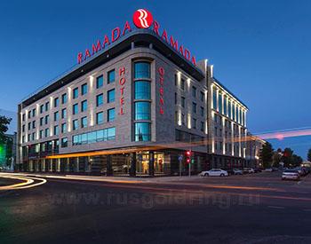 """Внешний вид отеля """"Рамада"""" в Казани"""