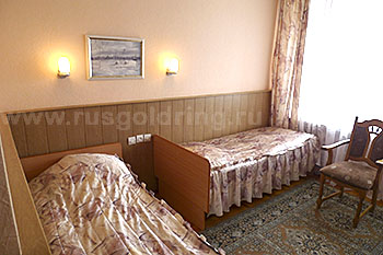 """2-местный номер отеля """"Рижская"""" в Пскове"""