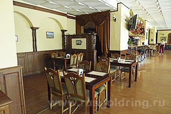 """Ресторан отеля """"Рижская"""" в Пскове"""