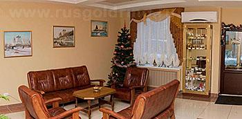 """Холл в отеле """"Транзит"""", Псков"""
