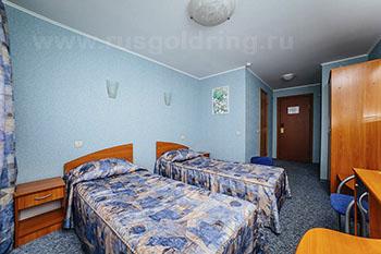 """2-местный номер стандарт в отеле """"Волга"""", Тверь"""