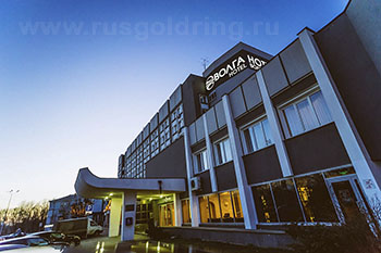"""Внешний вид отеля """"Волга"""" в Твери"""