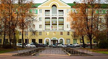 """Внешний вид отеля """"Волхов"""" в Великом Новгороде"""