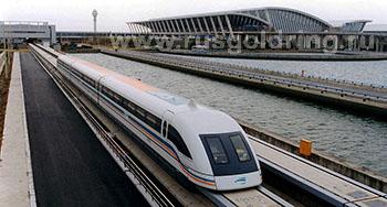 Железнодорожные туры в будущем. Поезда Маглев.