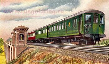 Железнодорожные туры в прошлом.