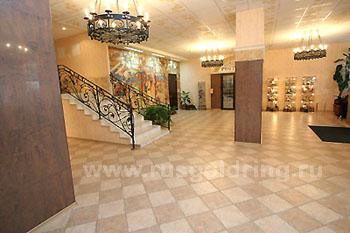 """Холл,  """"Садко"""" отель 3***, Великий Новгород, Золотое Кольцо России"""
