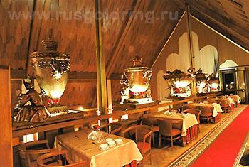 """Ресторан,  """"Суздаль"""" ГТК - отель Золотого Кольца России"""