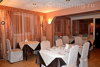 """Ресторан, """"Волга"""" отель, Рыбинск"""